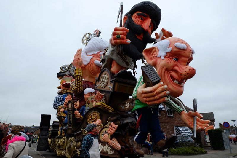 route optocht carnaval